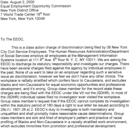 the eeoc s role in this lawsuit The eeoc s role in this lawsuit  eeoc soc/315 september 29, 2014 nanette bailey eeoc eeoc stands for the us equal employment opportunity commission.